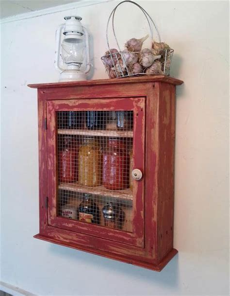 diy wall cabinets diy pallet storage cabinet kitchen shelf 101 pallets