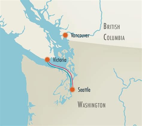 map seattle vancouver vancouver island packages resort spa packages on