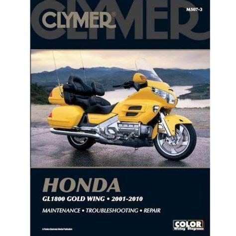 clymer manual honda gl gold wing   clymer