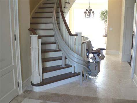 curved stair lifts bruno curved stair lift stairlifts installations ontario vancouver