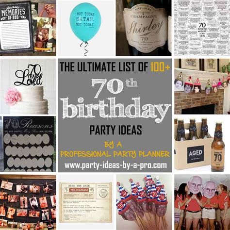 70 best images about party ideas on pinterest adult 100 70th birthday party ideas by a professional party planner