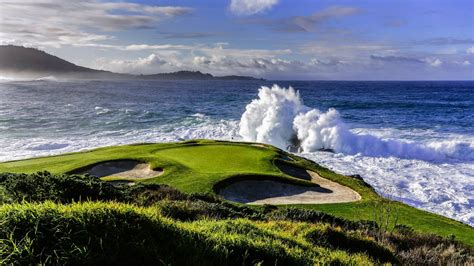 pebble beach the 7th hole at pebble beach from unfit to unforgettable