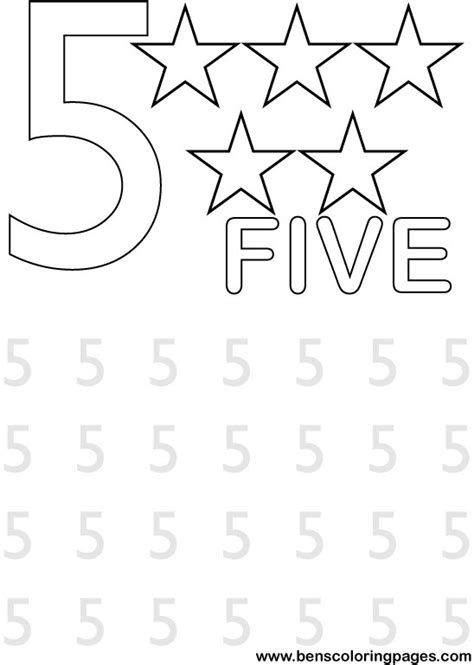 number the stars coloring page fun with numbers school coloring page