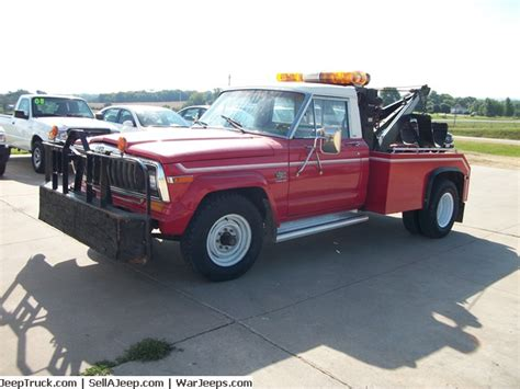 Jeep Tow Truck 100 1307 X4dt67