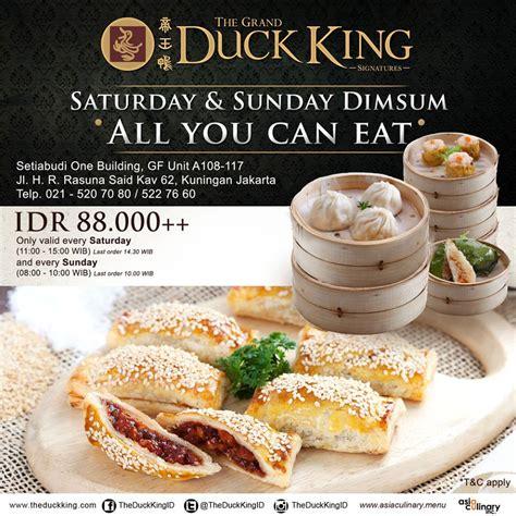 Duck Meal Mat Untuk Bayi 6 the duck king all you can eat dimsum cuma 88 000