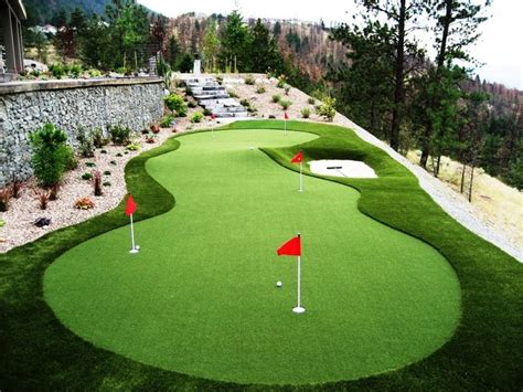 backyard putting green golf putting greens artificial grass advanced grass
