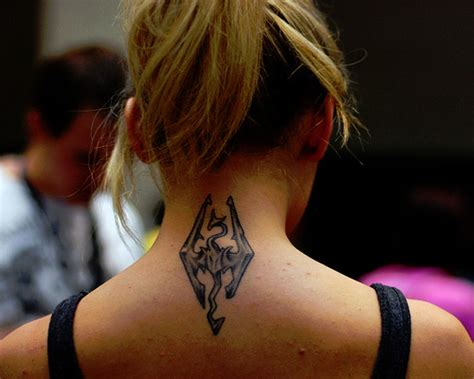 tattoo designs on neck for female 50 hair raising tattoo designs for women creativefan