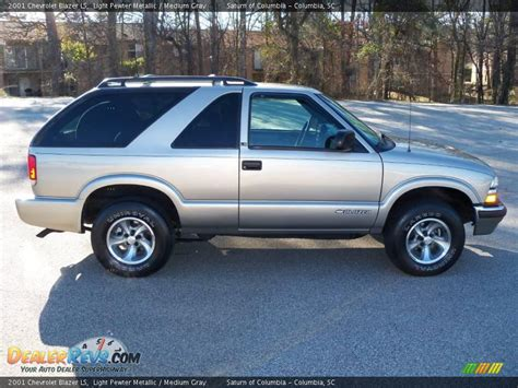 2001 chevrolet blazer ls 2001 chevrolet blazer ls light pewter metallic medium
