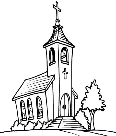 coloring page catholic church page catholic church sanctuary coloring pages