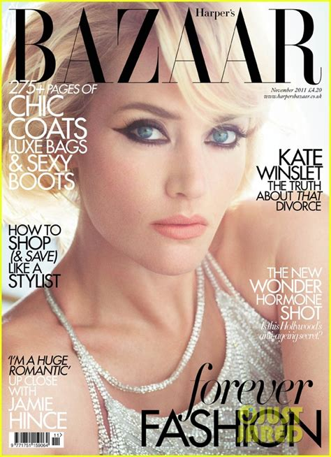 Kate Turns For Us Harpers Bazaar by Sized Photo Of Kate Winslet Harpers Bazaar Uk 02