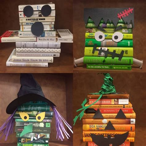 halloween reading themes 17 best images about library displays on pinterest good