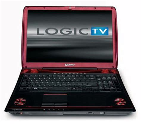 toshiba qosmio x305 gaming laptop all techno technology