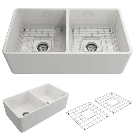 33 fireclay farmhouse sink bocchi classico farmhouse apron front fireclay 33 in
