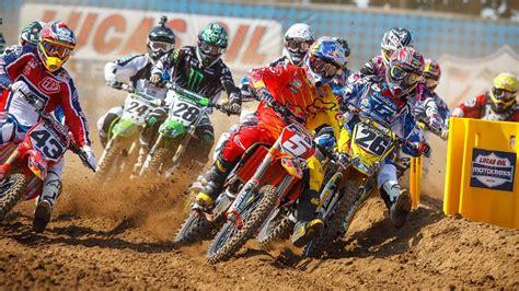 bull motocross race bull redbud national race highlights