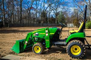 Landscape Rake For Deere 2305 Deere 2305 Leveling The Ground Before Seeding