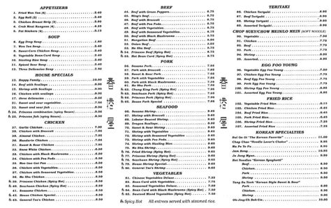 egg roll house muskegon menu at egg roll house restaurant norton shores