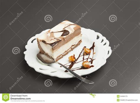 cake stock image image of delicious gourmet fork color