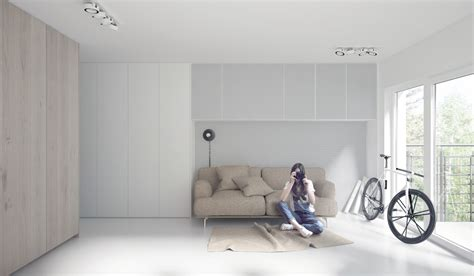 simple white room four sleek living rooms with simple color palettes