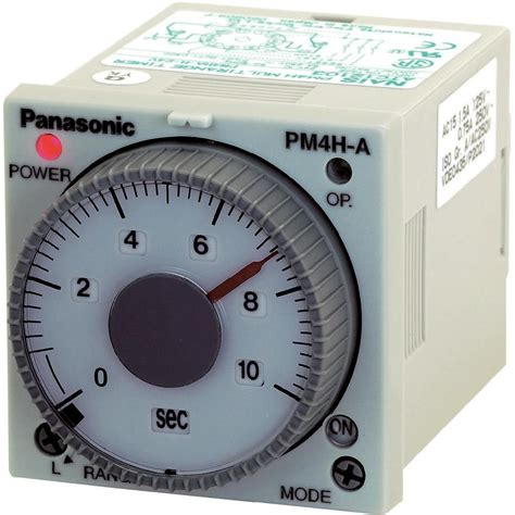 panasonic fan delay timer switch tdr multifunction 240 vac 1 pc s panasonic pm4hah from