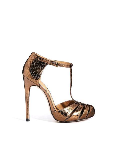 bronze high heel shoes bronze high heels is heel