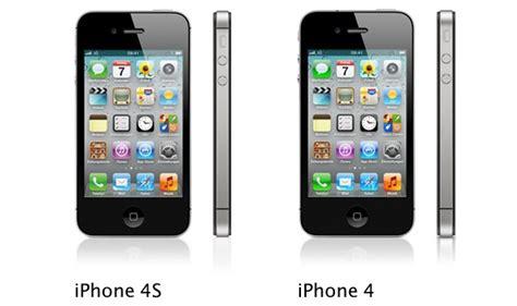 Iphone 4 Iphone 4s iphone 4 vs iphone 4s die hardware im vergleich