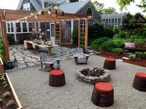 Backyard Ideas On A Budget Pit Landscaping Gardening Backyard Designs On A Budget