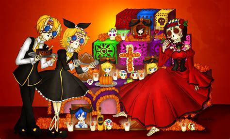 imagenes halloween y dia de muertos colecci 243 n de fanarts el anime videojuegos y el d 237 a de