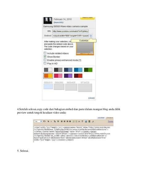 panduan membuat oralit panduan lengkap membuat blogspot