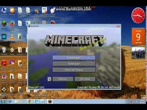 minecraft full version free no download or java how to install minecraft 1 8 full version for free youtube