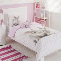 Baby Pink Bedroom - bunny quilt cover set target australia