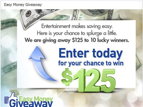 Easy Sweepstakes - easy money giveaway sweepstakes