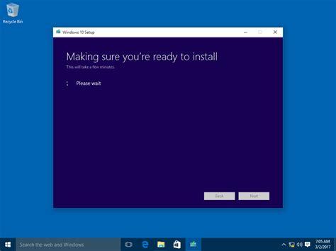 install windows 10 keep files how to upgrade to windows 10 version 1803 spring creators