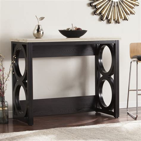 counter height console table counter height console table diy console table really