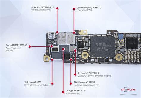 iphone se layout apple iphone se teardown chipworks