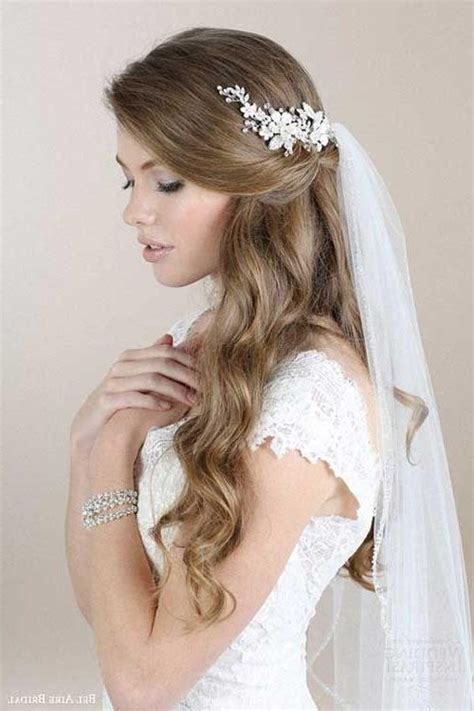 Wedding Hairstyles For Shoulder Length Hair With Veil by Wedding Hairstyles For Medium Hair With Veil Wedding