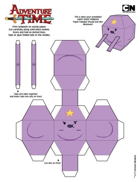 adventure time paper craft 138 best adventure time papercraft images on