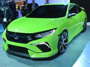 honda new model cars 2016 honda civic concept previews dramatic new lineup