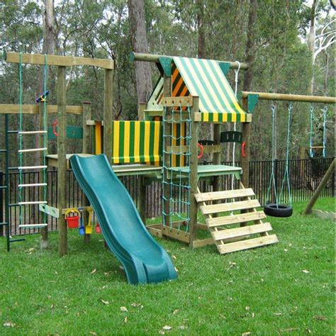 playground for small backyard best backyard play equipment on the gold coast go and