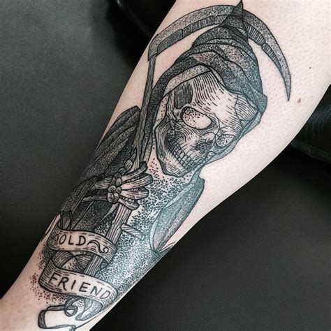 30 Creative Grim Reaper Tattoos Creative Grim Reaper Tattoos