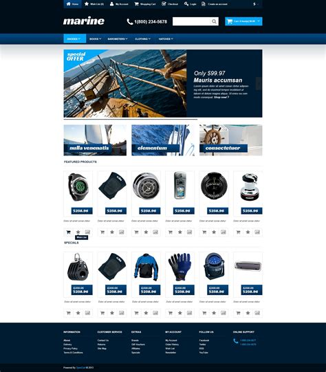 free responsive bootstrap templates free responsive bootstrap opencart template