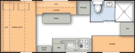 caravan floor plan layouts best family caravans with bunks gold coast caravan sales