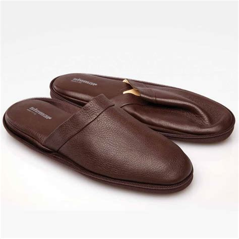 is slippers stemar heatrow soft calfskin travel slippers stemarshoes