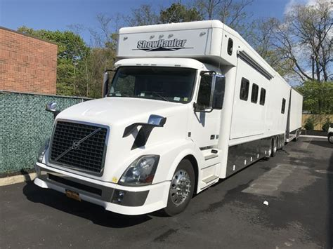 showhauler  volvo chassis  sale  denver pa racingjunk classifieds