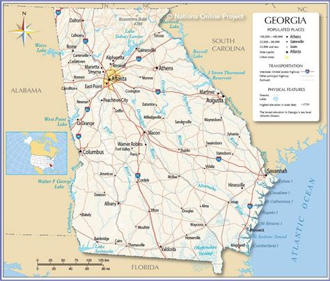 map of uga political map of fotolip rich image and