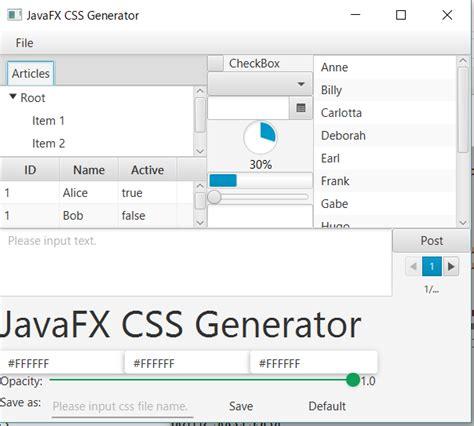 javafx html layout javafx アプリケーションを素敵に着飾ってみる qiita