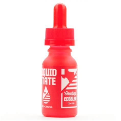 Liquid Usa Brewel 15ml 36mg liquid state vapors cowboy cobbler usa 15 ml premium ejuices and eliquids