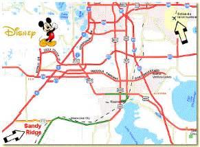 disney land florida map map of walt disney world in florida