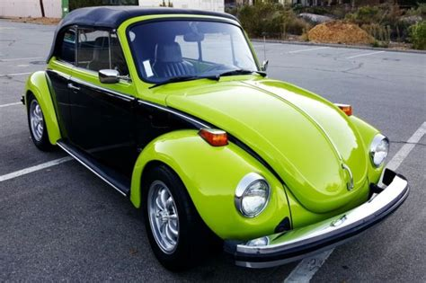 seller  classic cars  volkswagen beetle classic green  black  toneblack