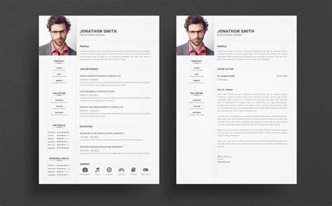 Resume Template Smith by Jonathan Smith Resume Template 65429