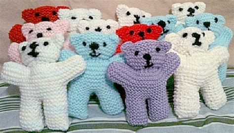 pattern for simple knitted teddy bear iwk health centre looking for comfort dolls and teddy